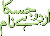 urdu hai jiska naam logo